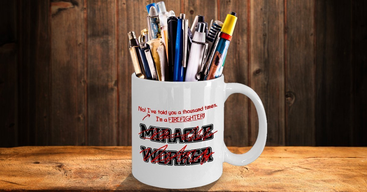 I/'ve Told You Thousand Times I/'m Not A Miracle Worker... Funny Psychiatrist Mug