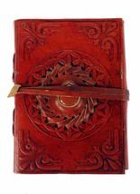 Buffalo Leather Blank Lokta Paper Pocket Diary Journal Notebook Handmade... - $23.92 CAD