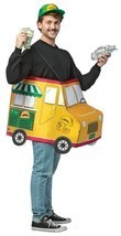 Taco Food Truck Adult Costume Tunic Food One Size Halloween Party Unique... - $55.99