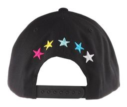 Civil Clothing Unisex Black CMYK Logo Trap Snapback Baseball Hat NWT image 4