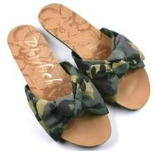 Blowfish Malibu Camo Slide Sandal Flip Flops Size 7.5 - $29.89