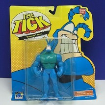 The Tick action figure Bandai 1994 Fox moc sealed vtg retro Bounding sup... - $62.70