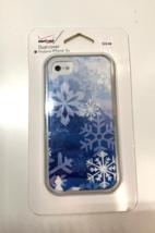 Verizon Snowflake Dual Cover for iPhone 5/5S (Blue/White),Retail Price:$... - $5.94