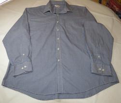 Men's Van Heusen Regular Fit 17 1/2 34/35 long sleeve button up shirt ca... - $32.17