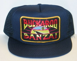 Buckaroo Banzai Movie Name Logo Patch Baseball Cap Hat NEW - $14.49