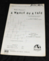 Walt Disney Whale Of A Tale SATB songsheet - $14.99