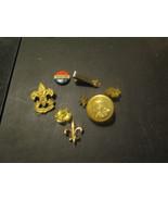 Boy Scouts 7 Pieces Compass Tie Clip Pins - $14.69
