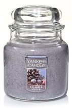 Yankee Candle Medium Jar Candle Balsam & Clove 14.5 oz - $25.00