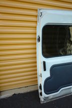 2010-13 Ford Transit Connect Rear Sliding Door W/ Glass Right Side RH image 10
