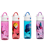 Disney Store Plastic Water Bottle Minnie Mickey Mouse Donald Daisy Duck New - $39.95