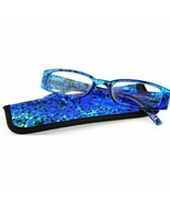 Foster Grant Reader's Choice Brynna Women's Blue Readers W/Case +2.75 - $21.77
