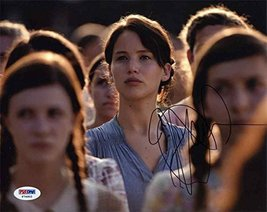 Jennifer Lawrence 'Hunger Games' Signed 8x10 Photo Certified Authentic PSA/DNA C - $494.99