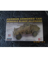 Lindberg German Armored Car Sd KFZ 222 1/35 scale out of production - $16.99