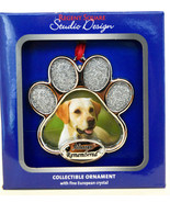 Regent Square Design Studio  Always Remembered Dog Photo  2019 Gift Orna... - $10.55