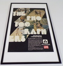 1971 The Alcoa Hour / Life Framed 11x17 ORIGINAL Advertising Poster - $65.09