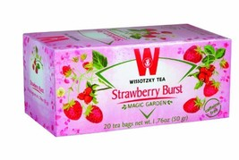 Wissotzky Strawberry Burst, 1.76-Ounce Boxes Pack of 6 - $21.49
