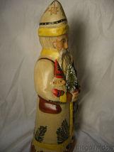 Vaillancourt Folk Art Christkindlesmarkt Gluhwein Santa Signed by Judi image 4