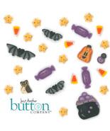 Button Pack 27 buttons (alternate) 9326 Boo Club Halloween Flips JABC Li... - $35.73