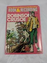 Peter Pan Robinson Crusoe Book & Record Set Sealed 45 RPM - $8.95