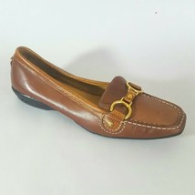Cole Haan Air Loafer Flats Horse Bit Brown Women's 6.5B - $28.04