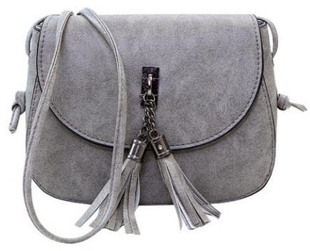 Women tassel messenger fashion pu leather bags 01