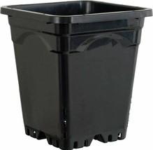 """Hydrofarm Active Aqua HG9X9SB Square Pot, 24 Pack, 9x 9"""", Black - $89.15"""