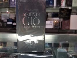 Giorgio Armani Acqua di gio Profumo Parfum for Men 2.5 oz * NEW IN SEALE... - $84.99