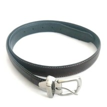 "8212L BOYS BLACK LEATHER BELT IN SIZES 18/"" TO 32/"" @ WHOLESALE PRICES"