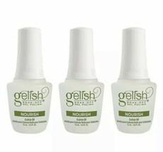 Harmony Gelish Nourish Cuticle Oil 0.5 oz (Pack Of 3) Brand New Bottle - $8.61
