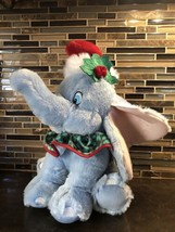 Disney Store Exclusive DUMBO Holly Stuffed Plush Christmas Hat RARE - $27.71