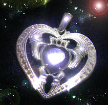HAUNTED NECKLACE MASTER WITCHS OPEN ANY LOCKED HEART TO LOVE GIFTS  OOAK MAGICK  - $9,227.77