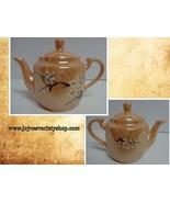Lusterware China CHERRY BLOSSOM Peach Porcelain Small Tea Pot - $18.99