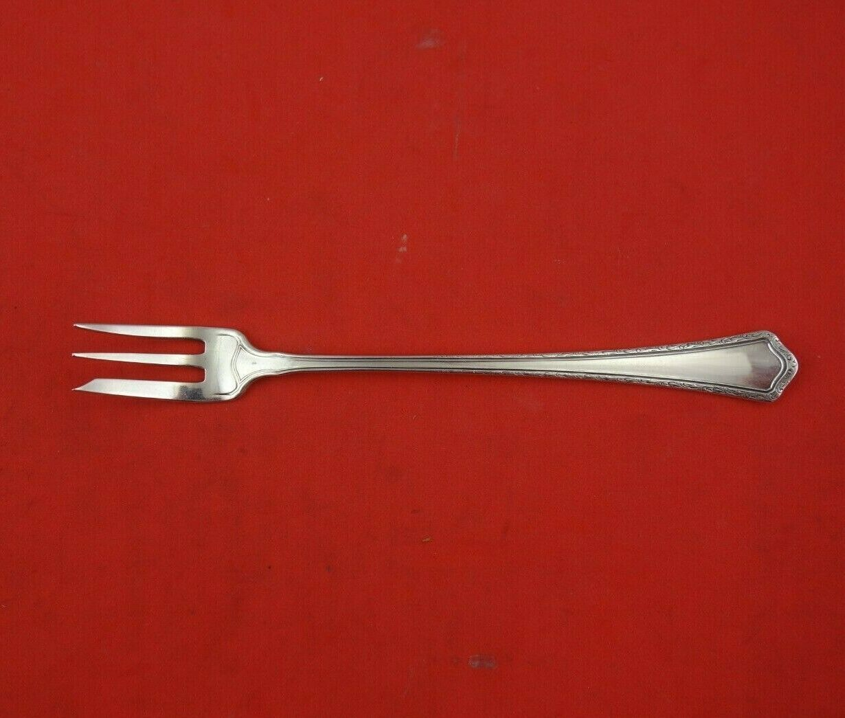"Primary image for Madison by Wallace Sterling Silver Cocktail Fork 5 1/4"" Silverware Heirloom"