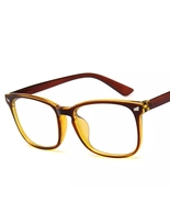 Anti blue rays computer Glasses Men Blue Light Coating Retro Spectacles ... - $8.28