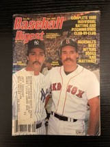 Baseball Digest January 1987 Wade Boggs Red Sox Don Mattingly New York Y... - $3.99