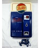 VTG Pepsi-Cola Drink Vending Machine replica Wall Display Phone  - $55.44