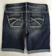 New SILVER Jeans Sale Buckle Mid Rise Eden Denim Stretch Jean Mid Shorts 32 - $29.97