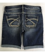 New SILVER Jeans Sale Buckle Mid Rise Eden Denim Stretch Jean Mid Shorts 32 - $33.33