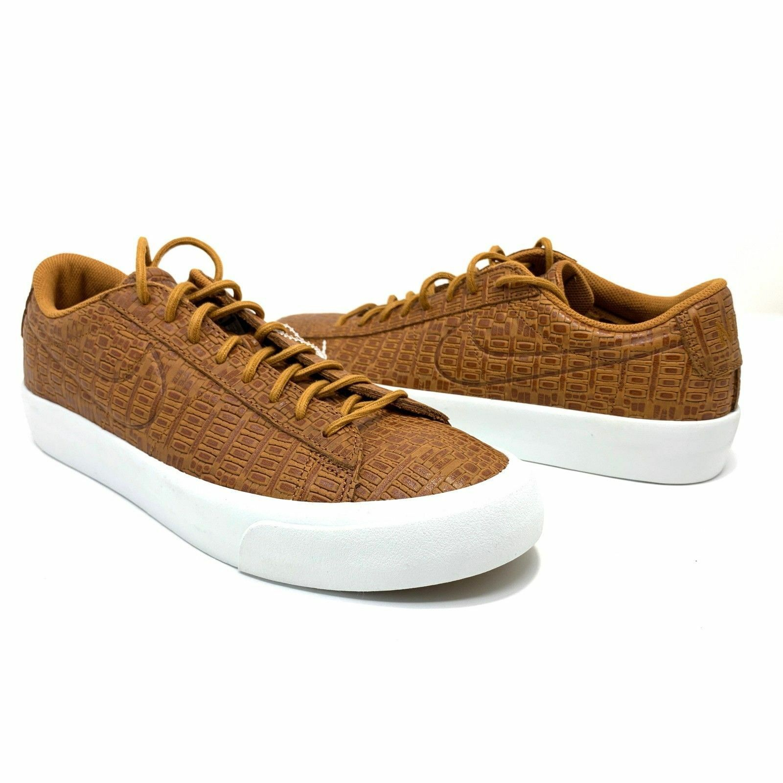 on sale f2ef9 55201 57. 57. Previous. Nike Blazer Studio Bas Alligator Désert Ocre Taille Us 8, Eu  41 ...