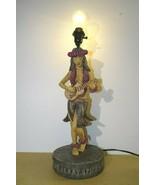 "Sailor Jerry Spiced Rum Lamp Hula Girl Playing Ukulele  21"" Tall - $395.00"