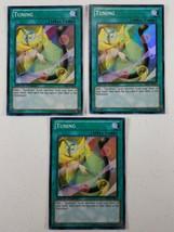 Yu-gi-oh! Trading Card - Tuning x3 - SHSP-ENSE2 - Super Rare - Limited Ed. - $4.00