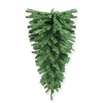 "48"" Canadian Pine Christmas Teardrop Swag - Unlit - tkcc - $39.95"