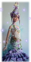 ooak  barbie gypsy - $152.00