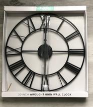 "La Crosse Clock Company 20"" Skeleton Metal Analog Wall Clock - 404-3451 - $20.00"