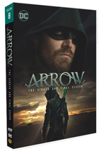 Arrow Complete Series Season 8 Final Season 2020 DVD Boxset New R1 USA - $23.95
