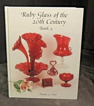 Ruby Glass of the 20th Century Hard Covered Book AA20-7449 Vintage  Book 2