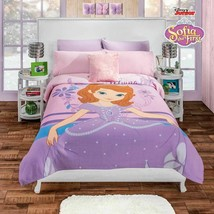 Disney Junior Girls Purple Sofia the First Fleece Blanket - $52.95