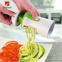 Vegetable Spiralizer Fruit Grater Spiral Slicer Cutter Spiralizer for Ca... - $9.82