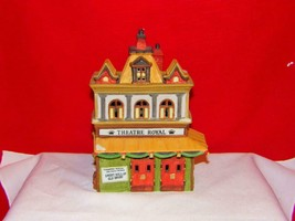 DEPT 56 DICKENS VILLAGE *THEATRE ROYAL* 55840 RETIRED IN BOX MINT - $21.56