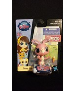 LITTLEST PET SHOP Bunny Ross Plastic Toy Pet Figurine - $7.00